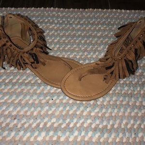 Shoes - Bohemian sandals w/zipper
